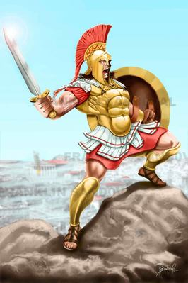 Ares Ancient Greek Gods And Goddesses